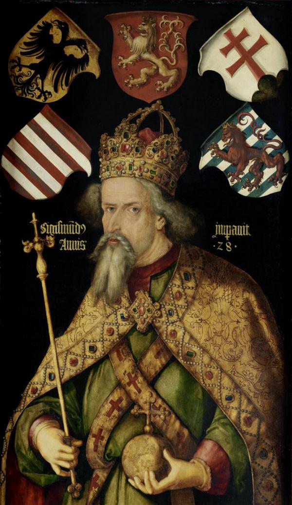 Krzyżacy mogli liczyć na wsparcie potężnych sojuszników. Jednym z nich był król Węgier Zygmunt Luksemburski.