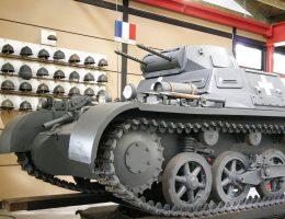 Panzerkampfwagen I- niemiecki czołg lekki. Tego typu pojazdy brał udział w bitwie pod Mokrą.