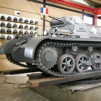 Panzerkampfwagen I- niemiecki czołg lekki. Tego typu pojazdy brał udział w bitwie.