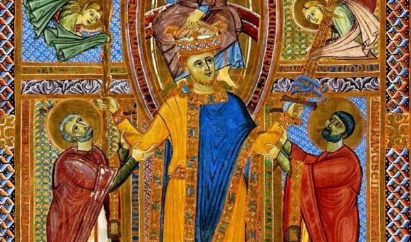 Konflikt między Henrykiem II, który w 1014 roku został koronowany na cesarza, a Boleslawem Chrobrym trwał od 1002 roku.