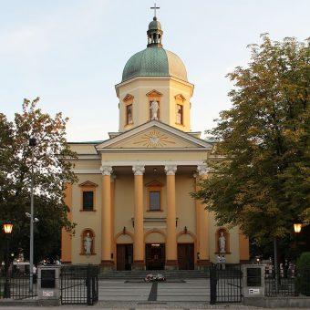 Kościół garnizonowy 72 Pułku Piechoty w Radomiu.