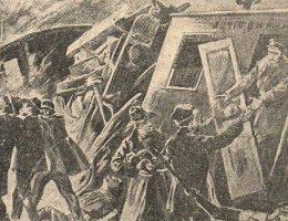Akcja pod Bezdanami była jedną z wielu przeprowadzonych przez bojówkę PPS akcji ekspropriacyjnych. Niestety, nie poszła tak dobrze, jak dwa lata wcześniejsza akcja pod Rogowem (na ilustracji).