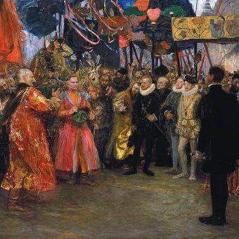 Posłowie, udający się do Henryka Walezego, by zawiadomić go o wyborze na króla Polski, przedstawili mu także do zaprzysiężenia artykuły, od jego imienia nazwane henrykowskimi.