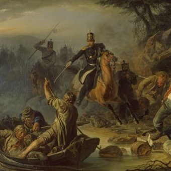 Pod koniec XIX wieku na granicach państw zaborczych przemyt był powszechny.