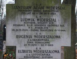 Jedną z ofiar morderstw dokonanych 13 czerwca 1944 roku był Ludwik Widerszal.