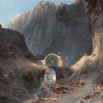 """Częścią drogi jest tak zwany """"diabelski most""""."""