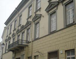 Dowództwo 19 Dywizji Piechoty mieściło się w Pałacu Paców w Wilnie.