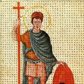Państwo Karola Wielkiego rozpadło się wkrótce po śmierci jego syna, Ludwika Pobożnego.