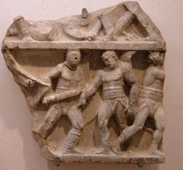 Pojedynki najsławniejszych gladiatorów często były przedstawiane w sztuce.