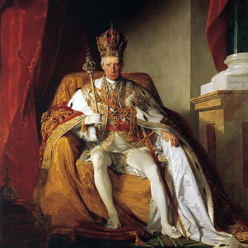Franciszek II Habsburg był ostatnim władcą Świętego Cesarstwa Rzymskiego.