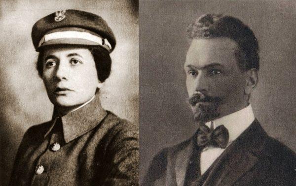 Jedno z partyjnych małżeństw stworzyli Aleksander Lutze-Birk i Aleksandra Zagórska.