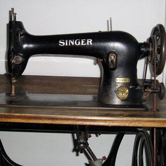 Maszyny Singera były pierwszymi praktycznymi i sprawnie działającymi maszynami do szycia.