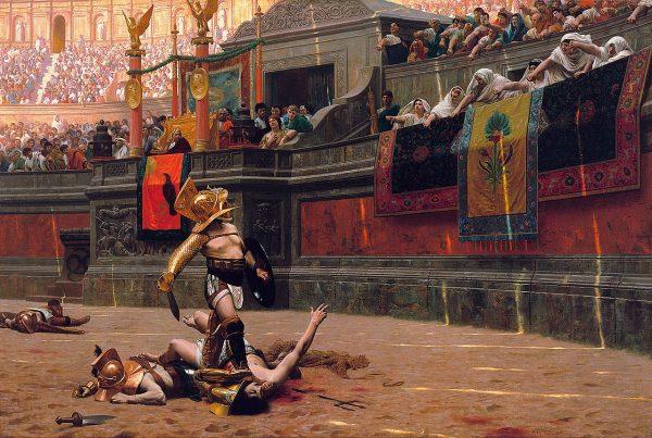 Walki gladiatorów były wyjątkowo spektakularne. Nic dziwnego, że można było na nich nieźle zarobić...