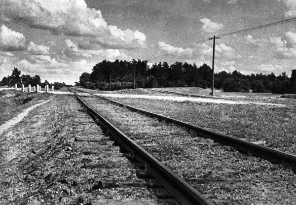 Obóz zagłady łączyła ze stacją kolejową w Treblince bocznica kolejowa.
