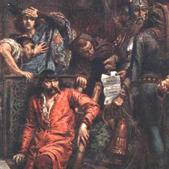 Maciej Borkowic już po rozwiązaniu konfederacji wystąpił przeciwko królowi i został skazany na śmierć głodową.