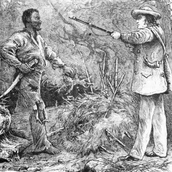 Nat Turner został schwytany i stracony po dwóch miesiącach od powstania.