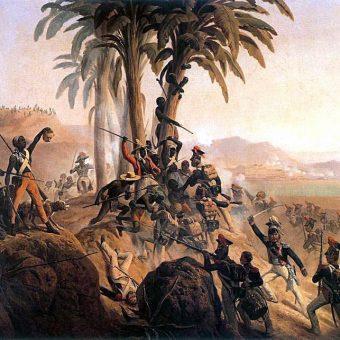 Rewolucja doprowadziła do wyzwolenia się Haiti spod francuskich rządów.