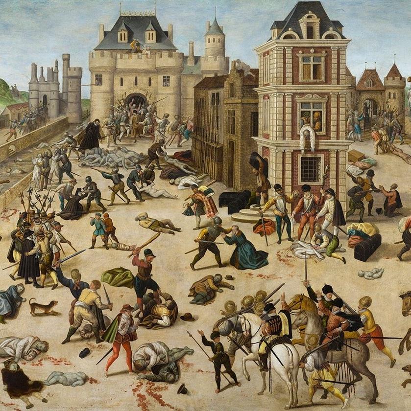 Do rzezi doszło niedługo po weselu Henryka, księcia Nawarry, z siostrą króla Karola IX Małgorzatą.