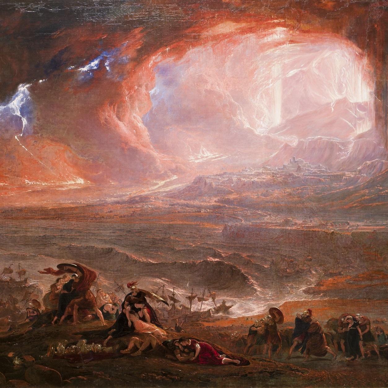 Po wybuchu Wezuwiusza okoliczne miasta, w tym Pompeje i Herkulanum, dosłownie zniknęły z powierzchni ziemi.