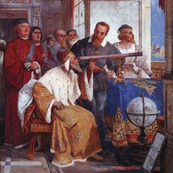 Teleskop zaprezentowany weneckim prawodawcom powiększał obserwowane obiekty około ośmiokrotnie.