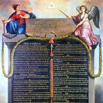 Deklaracja stała się dokumentem programowym rewolucji francuskiej.