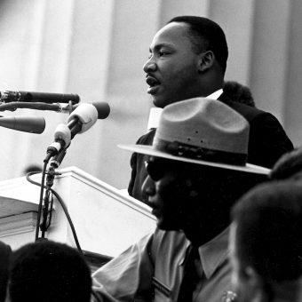 Przemówienie Martina Luthera Kinga wygłoszone w trakcie marszu uznaje się za jedno z najlepszych przemówień w historii.