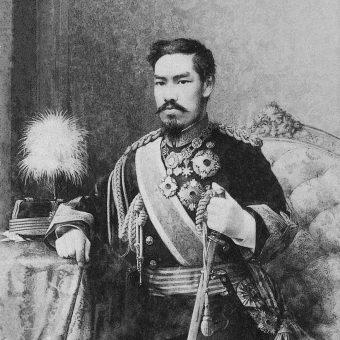 Zniesienie systemu feudalnego dokonało się w Japonii za rządów cesarza Mutsuhito.
