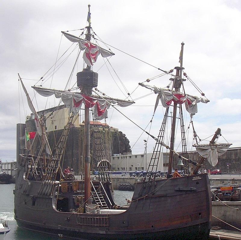 Jednym ze statków należących do floty Kolumba była Santa Maria.