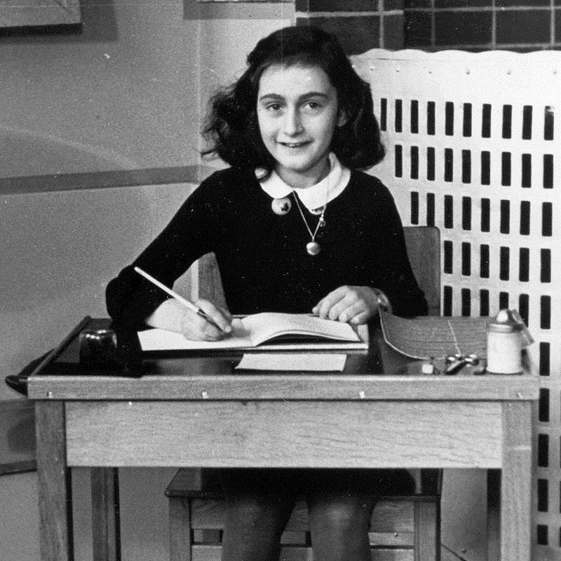 W momencie aresztowania Anna Frank miała 15 lat.
