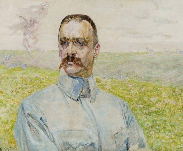 Józef Piłsudski pojawia się w wielu miejscach książki, ale jego biogram okazuje się zaskakująco krótki.