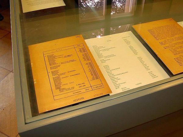 """Decyzje dotyczące """"ostatecznego rozwiązania kwestii żydowskiej"""" zapadły na konferencji w Wannsee 20 stycznia 1942 roku."""