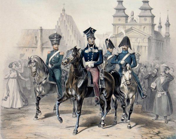 Borucki nie pomija trudnych tematów, takich, jak przystąpienie Jana Henryka Dąbrowskiego do Targowicy.