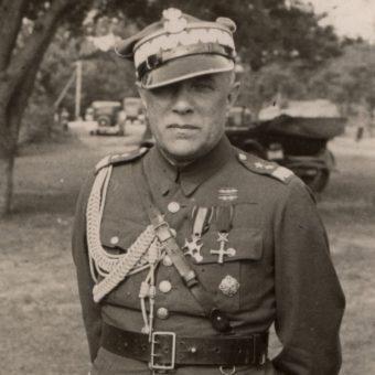 Dowódca 3 Dywizji Piechoty Legionów Leon Berbecki. Tutaj na zdjęciu z połowy lat 30.