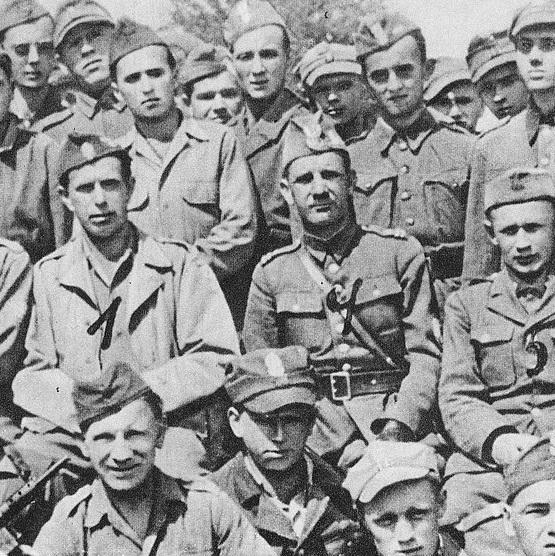 Brygada Świętokrzyska, która brała udział w działaniach zbrojnych w Radoszycach.