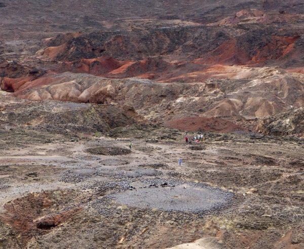 Cmentarzysko nad jeziorem Turkana (fot. Katherine M. Grillo, Department of Anthropology, University of Florida)