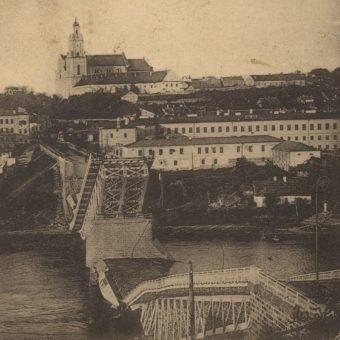 Grodno na pocztówce z 1921 roku.