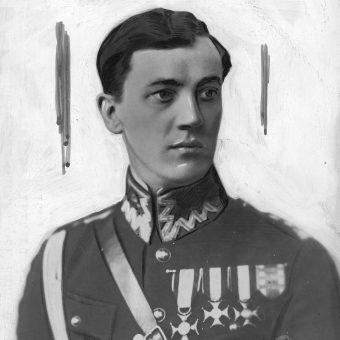 Pułkownik Gustaw Paszkiewicz, zdjęcie z lat 20.
