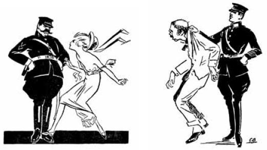 Ilustracja opublikowana wraz z artykułem Języczek w piśmie Amorek
