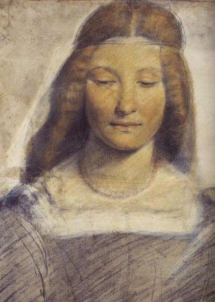 Izabela Aragońska na portrecie pędzla Beltraffio.