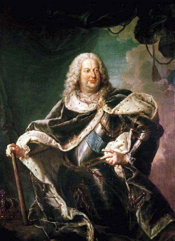 Jak widać po posturze, Stanisław Leszczyński cenił rozkosze stołu (fot. domena publiczna)