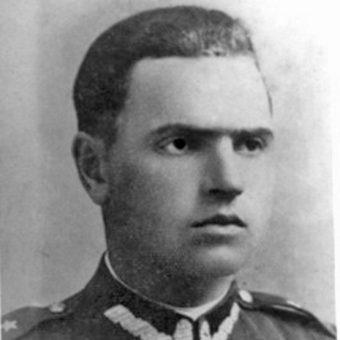 """Kapitan Jan Piwnik pseudonim """"Ponury"""" stał na czele partyzantki w rejonie Gór Świętokrzyskich."""