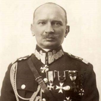 """Podczas bitwy Armią """"Łódź"""" dowodził generał Juliusz_Rómmel (1881 - 1967)."""