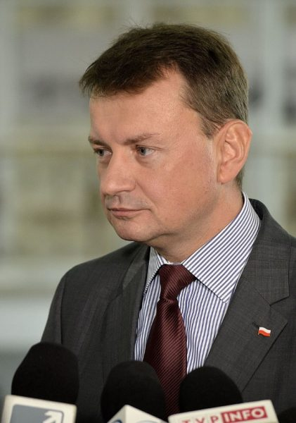 Mariusz Błaszczak (fot. Adrian Grycuk, lic CCA SA 3.0 Pl)