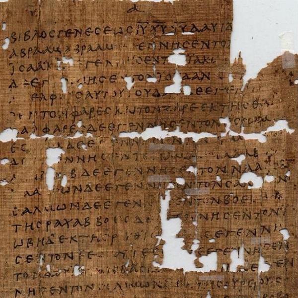 Papirus, zdjęcie poglądowe (fot. domena publiczna)