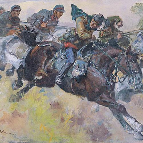 """""""Pogoń"""". Stanisław Batowski Kaczor."""