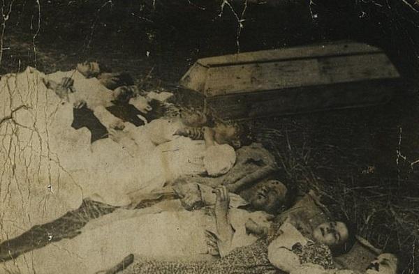 Rodzina Rudnickich zamordowana we wsi Chobułtowa (fot. domena publiczna)