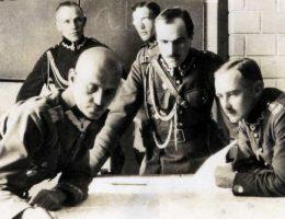 Sztab 5 Armii, sierpień 1920.