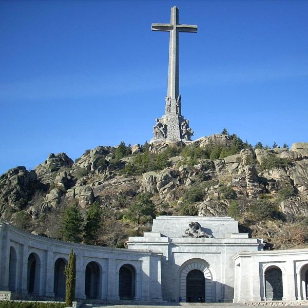 Widok na Valle de los Caídos (fot. domena publiczna)