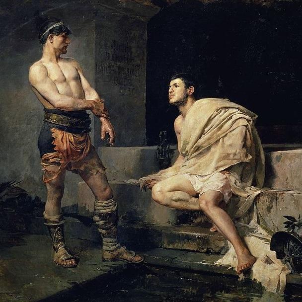 ae6cb135 Nie wszyscy gladiatorzy walczyli o wolność. Niektórych pociągała sława, a  jeszcze innych - pieniądze