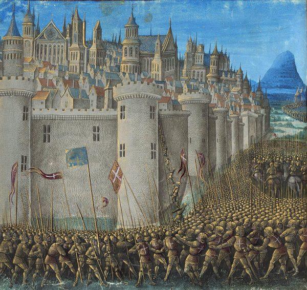 Oblężenie Antiochii powiodło się dzięki zdradzie jednego z mieszkańców miasta.
